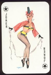 Пин-ап игральные карты Darling