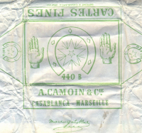 Алжир. Cartes Fines No. 440B