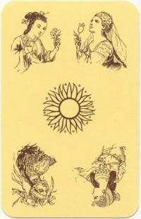 Игральные карты Стороны света