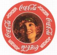 Круглые маленькие карты Кока-кола