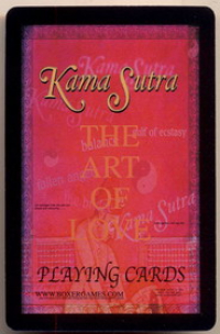 Playing cards Kama Sutra