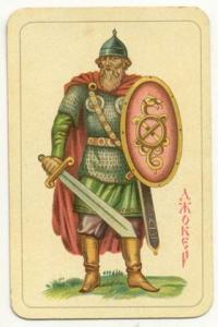 Славянские игральные карты 1930 года