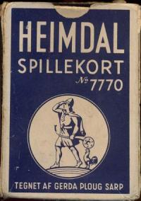 Heimdal Spiellekort No.477 Дания