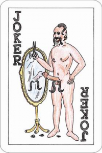 erotic parody playing cards - Americans in Ukraine