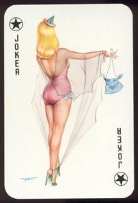 Пин-ап игральные карты Darling 2