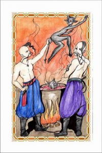 Игральные эротические карты Ночь перед Рождеством по рассказу Николая Гоголя