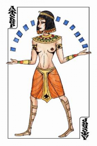 Playing cards ancient Egypt