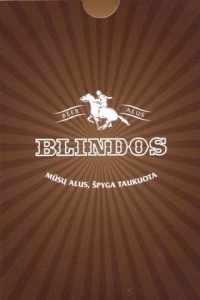 Lithuanian beer Blindos