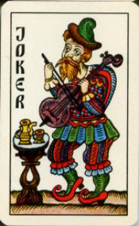 Lubok playing cards of Victor Sveshnikov - 54 cards