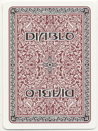 Deck of Diablo cards.