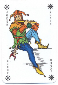 Hungary. Romikartya (celofanos)