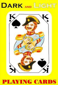 игральные карты латвийские Dzives kartis темное и светлое