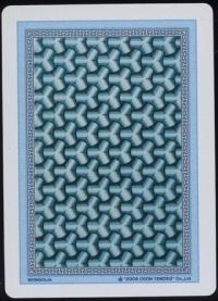 Mongolian card