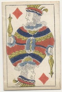 1840 year Russian playing cards