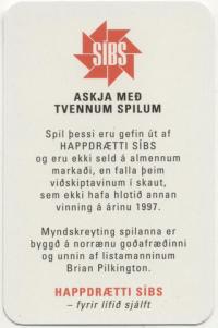 Askja Med Tvennum Spillum