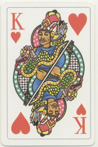Playing cards from Suriname