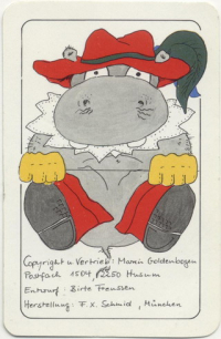 Playing cards Hippo No. 2 CdN