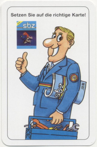 Водопроводчик сантехник SBZ