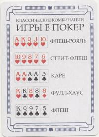 Игральные карты Покер Poker Cards