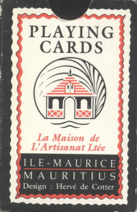Playing cards Ile - Maurice Mauritius