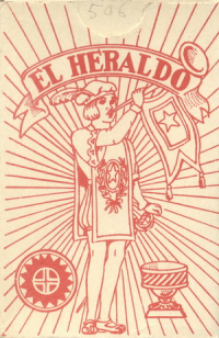 El Heraldo clase extra Naipes Espanoles