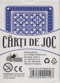 Carti de joc playing cards