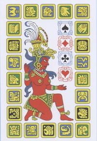 Playing cards of Maya Oleg Pankov