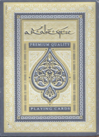 Playing cards Arabesque.