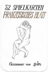 Erotic cards Gezeichnet von Gin