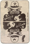 "Playing cards Find 7 differences newspaper ""Gazetka"""
