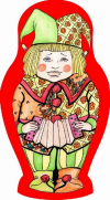 Striptease Russian dolls Matreshka