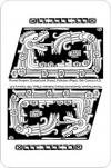 игральные карты королевские Майя