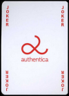 Playing cards Authentica.