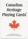 Canadian Heritage playing cards