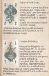 Playing cards Moldavian Jocul castelelor